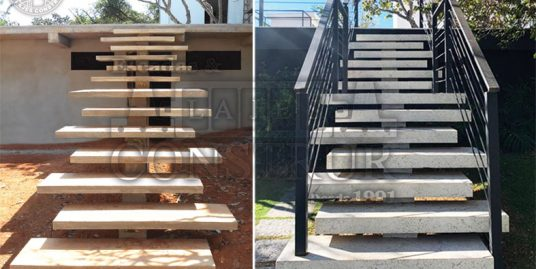 """Escadas – """"Antes e Depois"""""""